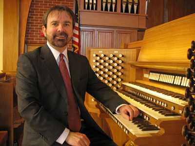 Robert Reilly, Organist